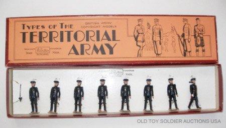 21: Britains #1617 RARE Line Regiments Regulars