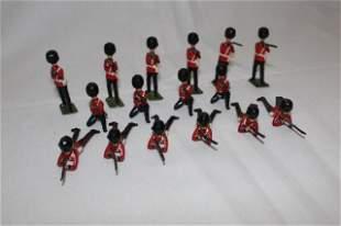 Britains set #1327 Grenadier Guards firing