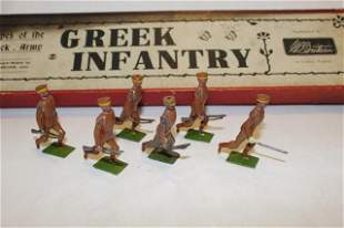 From Britains set #171 Greek Infantry