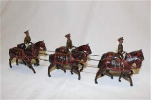 From Britains set #1440 Royal Artillery, walk