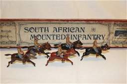 Britains set 38 South African Mounted Infantry