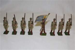 Britains set #222 Uruguayan Infantry