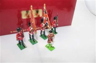 Britains #43056 Grenadier Guards Color Party
