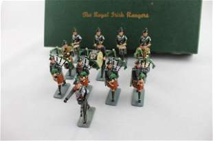 Irish Toy Soldier Museum RIR Pipes & Drums