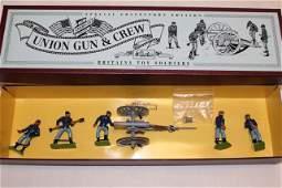 Britains set 8875 Union Gun  Crew