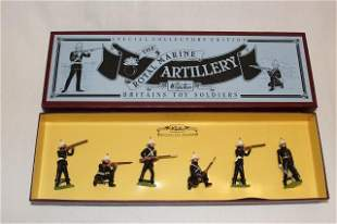 Britains set #8826 Royal Marine Artillery