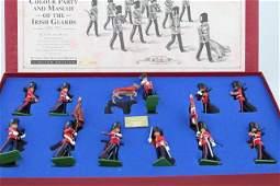 Britains Colour Party & Mascot of Irish Guards