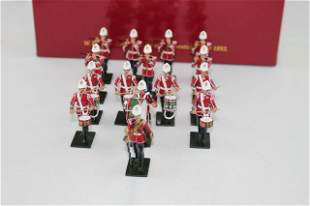 Britains 48008 Drum Corps 2nd Bn. 24th Foot 1879