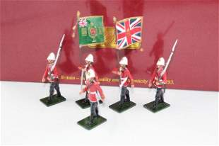 Britains 48009 Colour Party 2nd Bn. 24th Foot