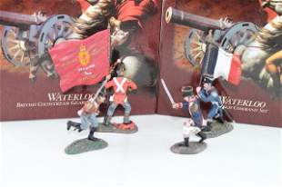 Britains Waterloo British & French Command sets