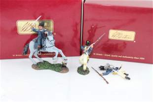 Britains Hougoumont French Light Infantry sets