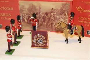Britains #s 5991, 5993 Queen Victoria Presenting