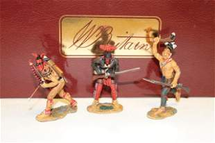 Britains set #17542 Am. Rev. Iroquois Warriors