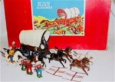 Britains 2042 Covered Wagon Prairie Schooner