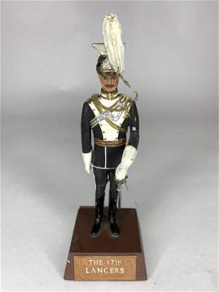 Sentry Box Officer of the 17th Lancers