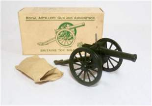 Britains #1263 Royal Artillery Gun & Ammunition