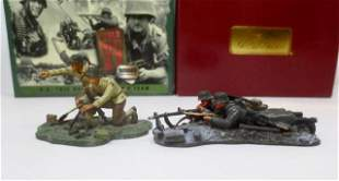 Britains WW2 U.S. & German Gun Crews