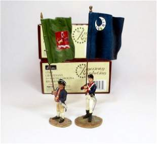 Britains American Revolution Flag Bearers