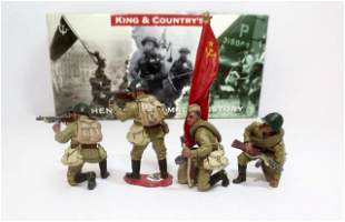"King & Country #RA009 ""Soviet Tank Riders"""