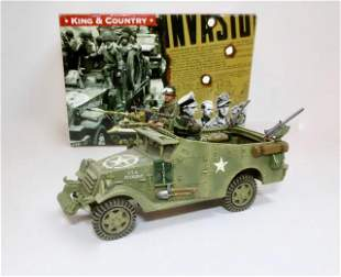 "King & Country #BBA016 ""M3A1 White Scout Car"""
