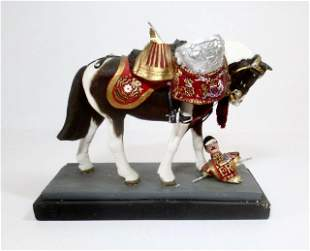 H.W. Willetts Household Cavalry Kettle Drummer
