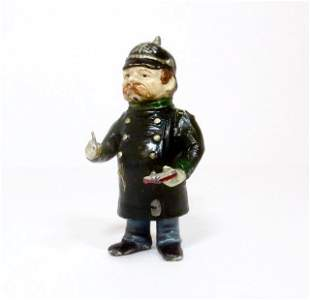 Heyde RARE Policeman Writing a Ticket