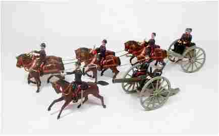 Britains RARE Paris Office French Artillery