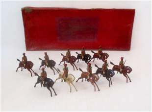 Britains #62 Indian Army Cavalry Display