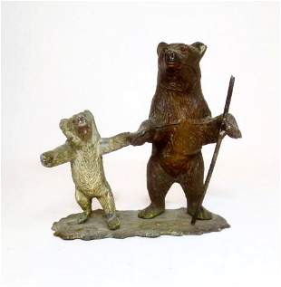Heyde Two Bears Out For A Hike
