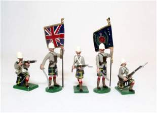 Trophy Highlanders with Colours