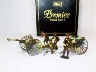 Britains #41025 French 75mm Gun & Caisson