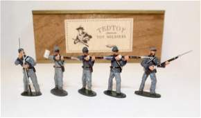 TedToy #TT355b Confederate Infantry