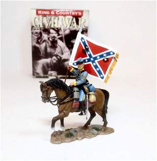 King & Country #CW004 Confederate Flagbearer