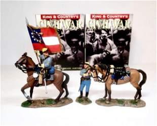 King & Country American Civil War Confederates