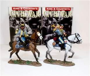 King & Country American Civil War Cavalry