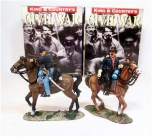 King & Country American Civil War Union Cavalry