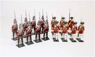 "Britains ""Redcoats"" Two British Regiments"