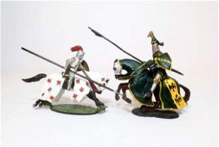 Alymer and Other Mounted Tournament Knights