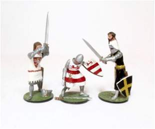 Alymer Banners Forward Foot Knights