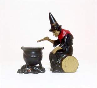 Johillco Witch Cauldron & Fire