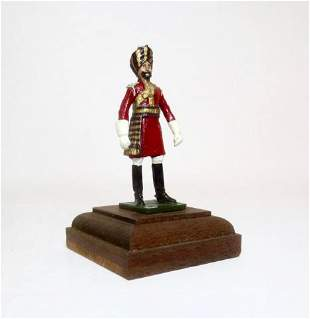 Indian Army Officer Military Miniature Model
