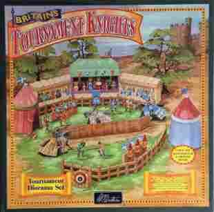 Britains #08761 Tournament Knights Diorama