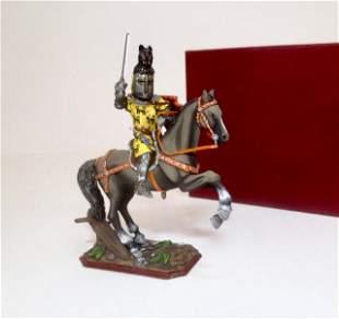 Russian Studio Mounted Knight