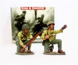 "King & Country #IWJ026 ""Rifle Grenade Team"""