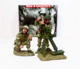 "King & Country #MG031 ""Mortar Team"""
