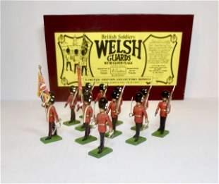 Britains #5186 Welsh Guards Color Party