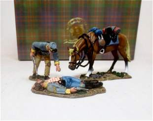 King & Country #CW048 Confederate With Wounded