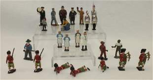 English Lead Figures by Various Makers