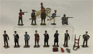 Britains Lot Infantry and Railway Staff