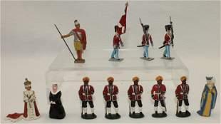 Lot Ballada and Brigader of Denmark Figures